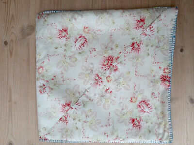 Vintage antique retro floral fabric material chintz shabby chic cushion cover
