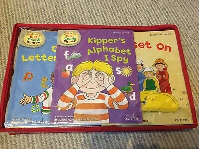 Oxford Reading Tree: Read With Biff, Chip & Kipper - Level 1-3 33 Books