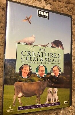 All Creatures Great and Small - Series Three Set (DVD, 2009, 4-Disc Set)