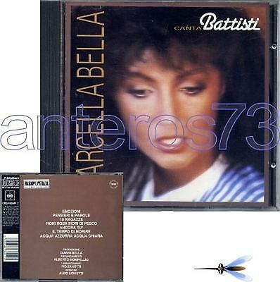"Marcella Bella ""Canta Battisti"" Raro Cd Cbs - Sigillato"