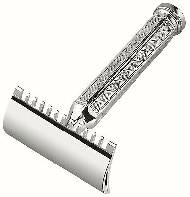 MERKUR 41 C safety razor - 1904 design - Double edge - Open comb - Short handle