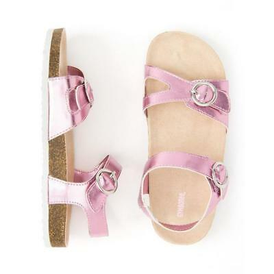 NWT Gymboree Jump Into Summers Girls Sandals Metallic Pink Baby and Kids sizes