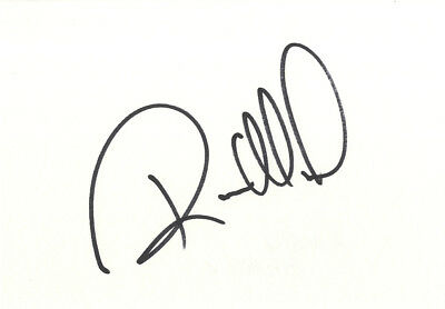 Randy Mamola - American Grand Prix Motorcycle Racer In Person Signed Card.