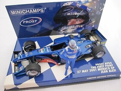 2001 Prost AP04 Jean Alesi Monaco First point by Minichamps