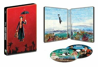 Mary Poppins (1964) Best Buy Exclsuive Steelbook (Blu-ray/DVD) BRAND NEW!!