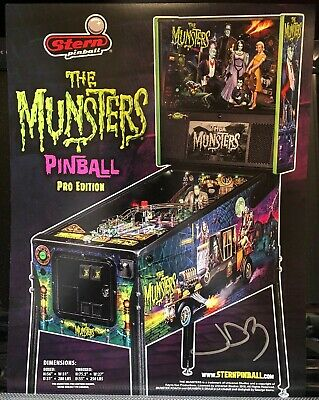 STERN THE MUNSTERS Pro Pinball Machine - $5,999 99 | PicClick