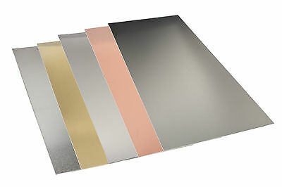 "K&S Sheet Metal 4"" x 10"" various thickness Aluminium, Brass, Copper, Tin, Steel"