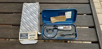 Moore And Wright 0 - 25mm Metric  Micrometer. 965Mf