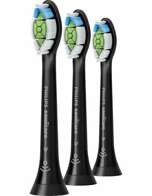 Philips Sonicare W Optimal White Replacement Electric Toothbrush Heads - Black