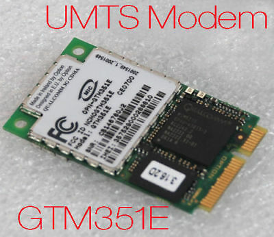 Umts GPS Modem Wireless Network Gtm351 for Panasonic Cf 18 18 Newware Sealed Mm