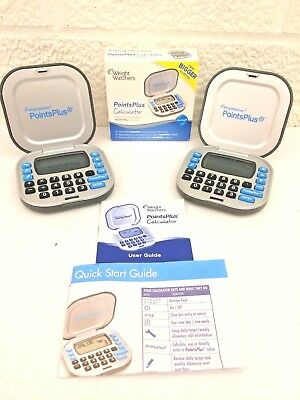 Weight Watchers Points Plus Calculator Lot Of 2! (Bigger Buttons) You Get Both!