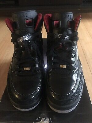 low priced 02d0d 5b632 Nike Air Jordan Spizike Size 12 Black and Varsity Red