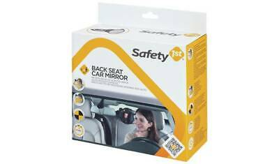 Safety 1st BACK SEAT CAR MIRROR Baby Travel Headrest Wide Angle View Mirror
