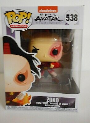 Funko Avatar: The Last Airbender Zuko Pop Animation! Vinyl Figure #538
