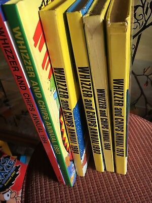 whizzer and chips annuals