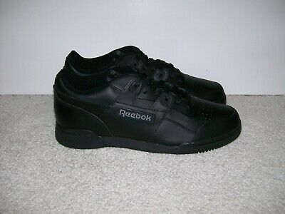 8acc08074ca NEW DS SZ 12 Mens Reebok Classic Workout Plus Shoes Charcoal Black 2760  Casual