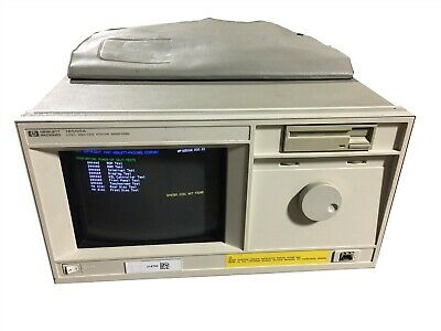 HP 16500A Logic Analysis Prototype Analyzer System 5 Slot Touchscreen Mainframe