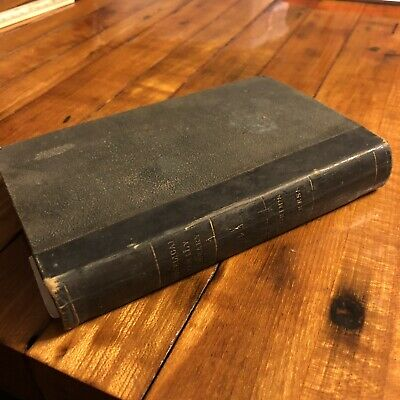 RARE 1800's Copy Of Pilgrams Progress By John Bunyan Antique Old Book Collect