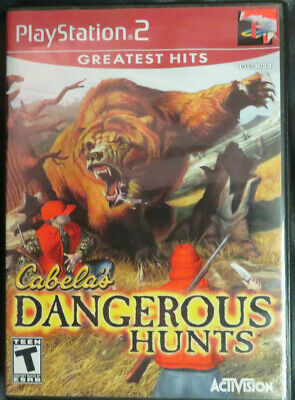 Cabela's Dangerous Hunts [PlayStation 2] Greatest Hits 2003