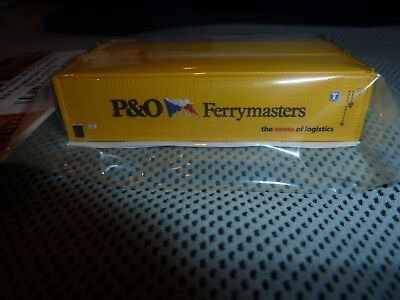 Con-Cor HO  45/' Reefer Containers  P/&O Ferrymasters    2pack  CCI83656