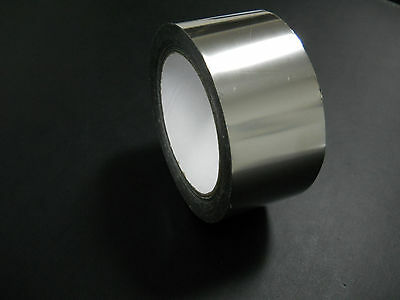Stainless Steel Adhesive Tape 2 mil x 2 inch x 50 FEET