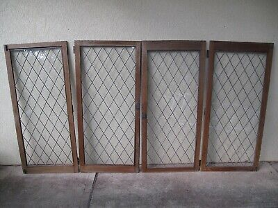 Antique Copper Wire Cabinet Doors