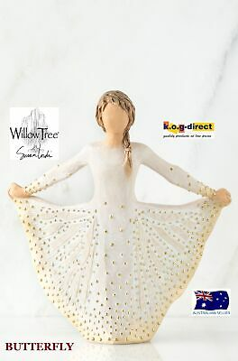 BUTTERFLY Willow Tree Demdaco Figurine By Susan Lordi Brand New In Box