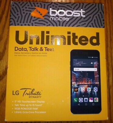 BOOST MOBILE LG Tribute HD LS676 4G LTE Android Phone * BAD LCD