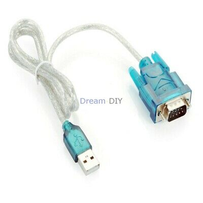 new USB to RS232 Serial COM Port 9 Pin DB9 Cable Adapter Convertor usb 1.1 2.0