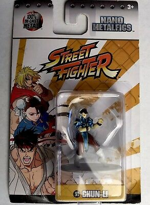 "2017 Jada Toys NANO METALFIGS ~ Street Fighter Series /""CHUN-LI/"" ,2/"" SF3"