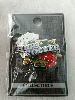 Hard Rock Cafe Pin Atlantic City Hotel & Casino High Roller 3D Pin Grand Opening