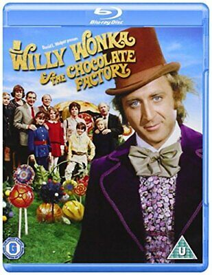 Willy Wonka And The Chocolate Factory [Blu-ray] [1971] [Region Free] [DVD]