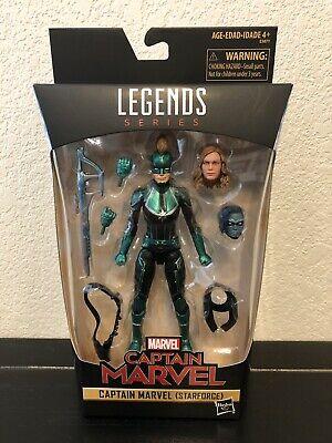 "MARVEL LEGENDS 6/"" inch CAPTAIN MARVEL STARFORCE Target Exclusive New Sealed"
