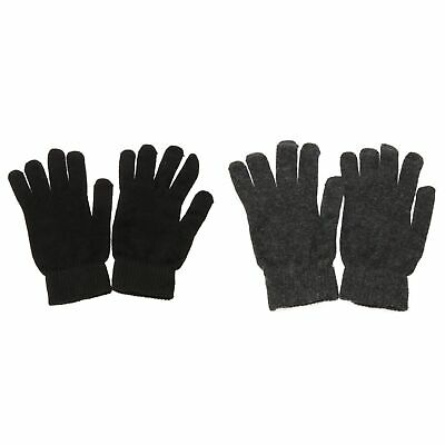 Mens Plain Magic Gloves With Wool (GL200)