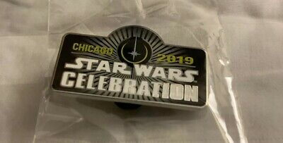 Star Wars Chicago 2019 Celebation Pin Official 100% Authentic Brand New Sealed