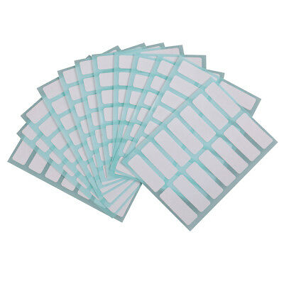 12 sheets13*38mm price sticker self adhesive labels blank name number tags HQ
