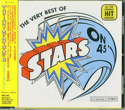 The Very Best Of Stars On 45-All The Original Hit Versions-Japan Cd F25