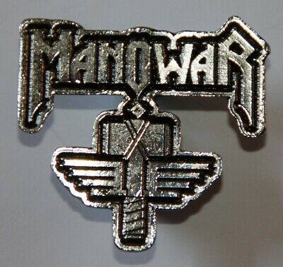 Manowar , Sign of the Hammer Pin, Badge