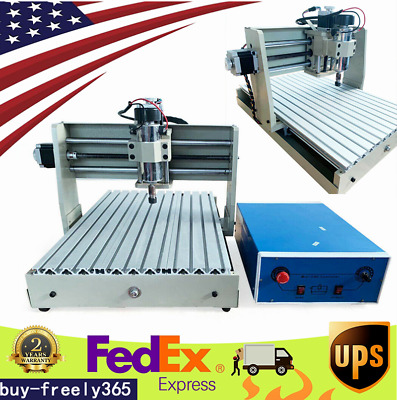 USB 4Axis CNC Router Engraver 3040 Engraving Milling Drilling Machine 3D Cutter