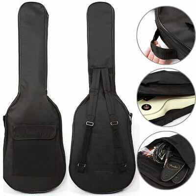 Padded Electric Guitar Bag Soft Case Double Straps Backpack Carrying Bag UK