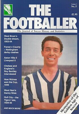 The Footballer Magazine Issue Number 19 ~ Hull / Wolverhampton  / West Bromwich