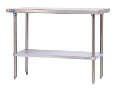 4 FT STAINLESS STEEL TABLE 1219 X 610 x 914 MM HIGH (ALL STAINLESS STEEL)