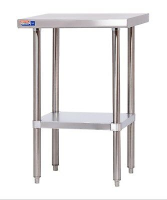 2 FT STAINLESS STEEL TABLE 610 X 610 x 914 MM HIGH (ALL STAINLESS STEEL)