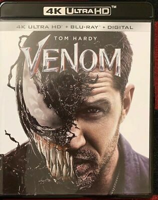 Marvel Venom 4K Ultra Hd Blu Ray 2 Disc Set Free World Wide Shipping Buy It Now