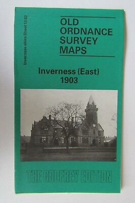 Old Ordnance Survey Map Inverness (East) 1903