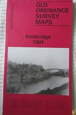 Old Ordnance Survey Map Ironbridge 1901