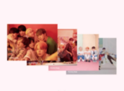 Bts - Map Of The Soul Persona Official 4 Poster Set