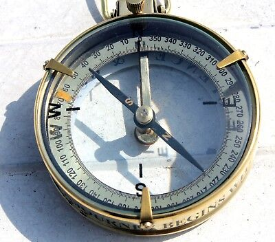 "Marine Collectible Nautical Brass Directional Spencer Compass Working item 3""."