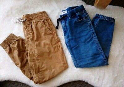 *Country Road* 2 x Boys Size 7 Cargo/Denim Jeans Pants *Good Pre-loved Cond*
