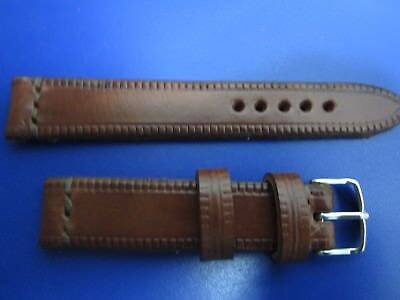 22mm Correa Reloj cuero Pulsera Leather Watch Band Strap